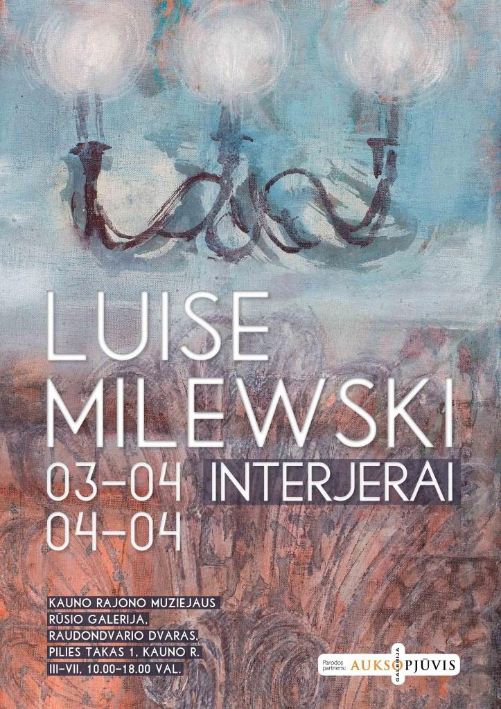 Luise Milewski tapybos paroda
